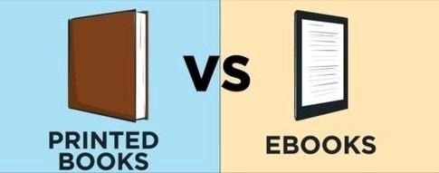 E-books vs PrintedBooks
